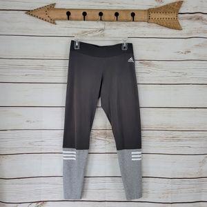 Adidas | Colorblock Striped Athletic Leggings